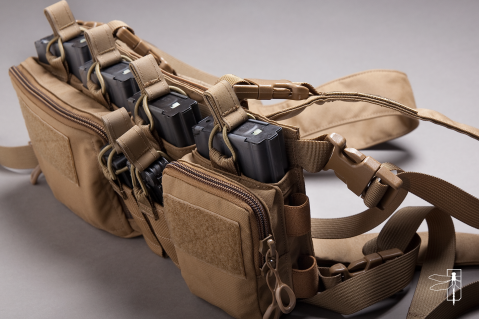Haley Strategic Partners, HSP, D3CR-H, Disruptive Environments Chest Rig Heavy,  308 (4)