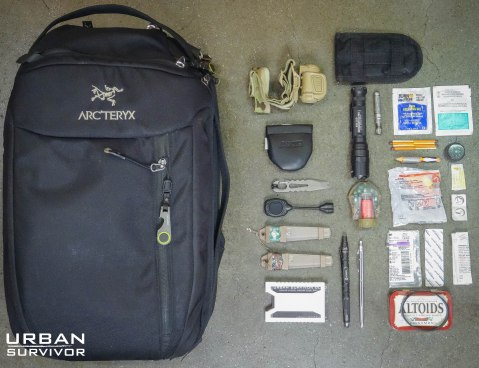 Arc'teryx Blade24 EDC Backpack Loadout