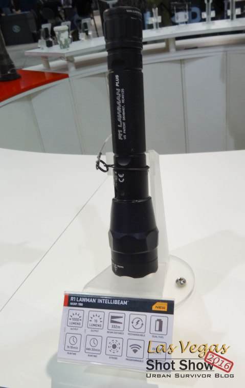 Shot Show 2016 Surefire R1 Lawman Intellibeam