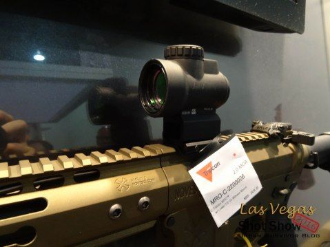 Shot Show 2016 Trijicon MRO