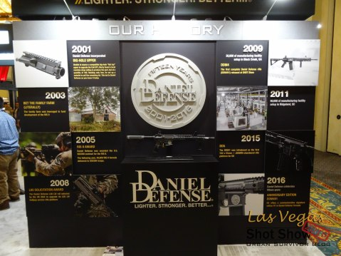 Shot Show Daniel Defense 15 years