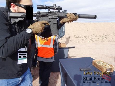 SilencerCo Hybrid ShotShow2016