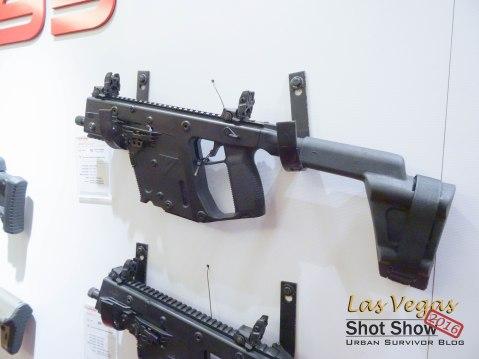 Kriss Vector SBR Pistol 9mm 45ACP