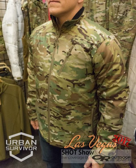 Outdoor Research Tradecraft Jacket Multicam