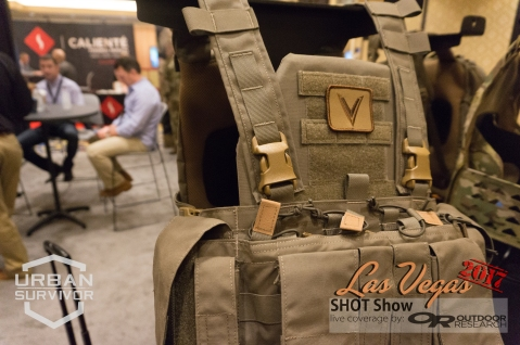 Velocity Systems & Mayflower RC Chest Rig Wolf Grey