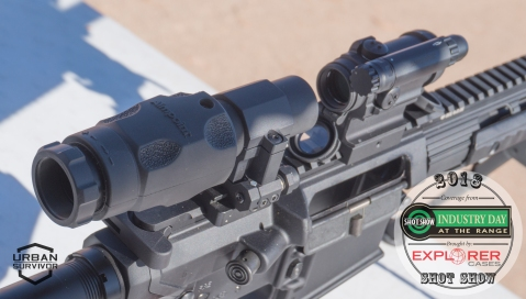 Aimpoint CompM5 and 6x Magnifier SHOT Show 2018 Industry Day at the Range (8)