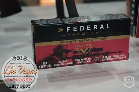 Federal Premium 224 Valkyrie SHOT Show 2018 (8)