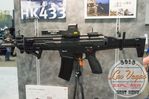Heckler Koch HK433 SHOT Show 2018 (3)