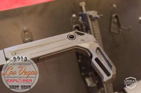 Kriss Vector 2018 Handguard Stock SHOT Show 2018 (3)