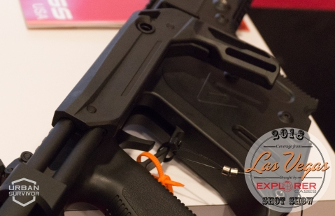 Kriss Vector 2018 Handguard Stock SHOT Show 2018 (6)