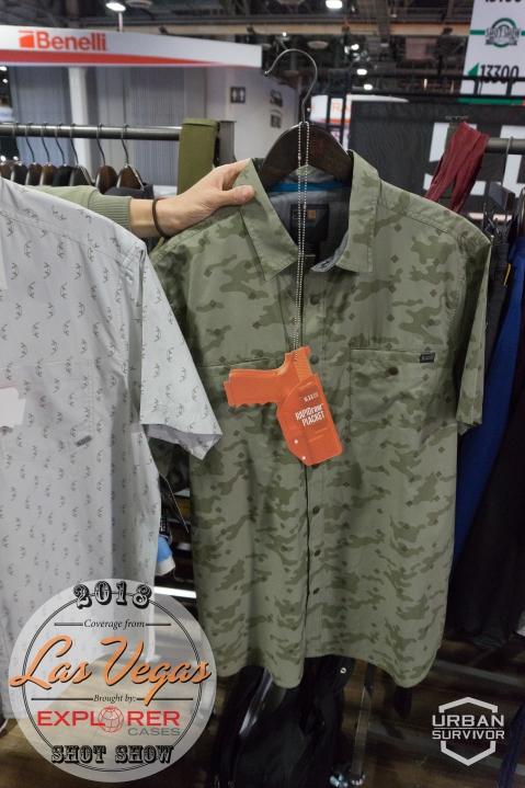 5.11 SHOT Show 2018 Crestline Camo Shirt