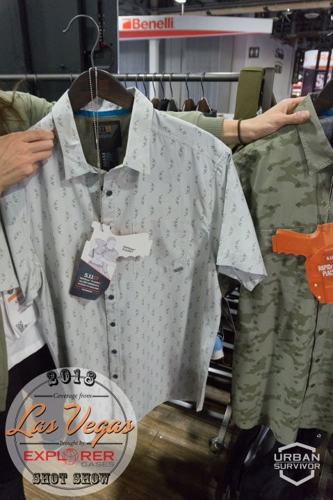 5.11 SHOT Show 2018 Have a Knife day Shirt