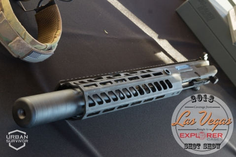 Sig Sauer 300blk suppressed upper SHOT Show 2018 Sig Range Day