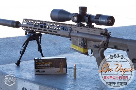 Sig Sauer 716 6.5 Creedmoor SHOT Show 2018 Sig Range Day (7)